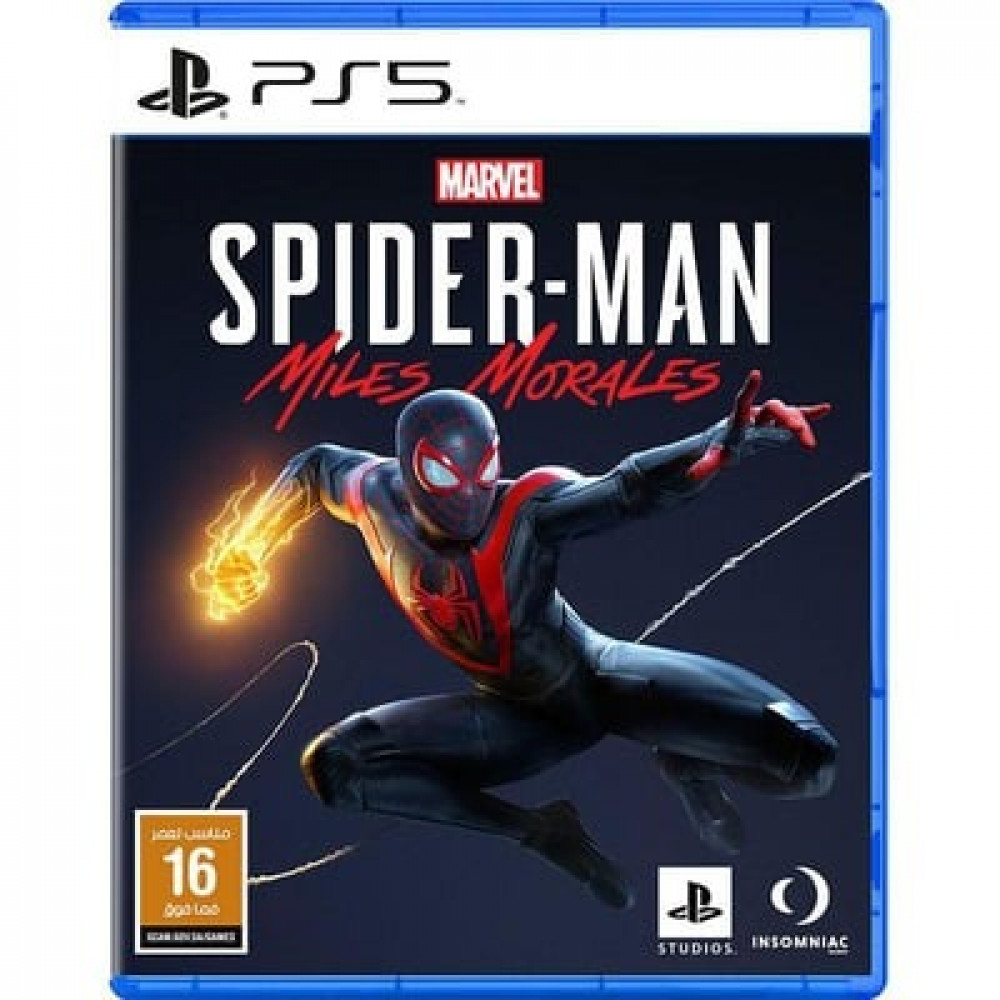 لعبة Spider Man Miles Morales إصدار اللغة العربية لPlayStation 5