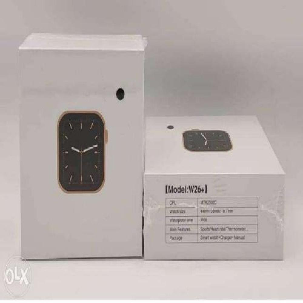ساعة ذكية 2020 IWO W26 PLUS سعر منخفض ساعة ذكية متوفرة في السعودية