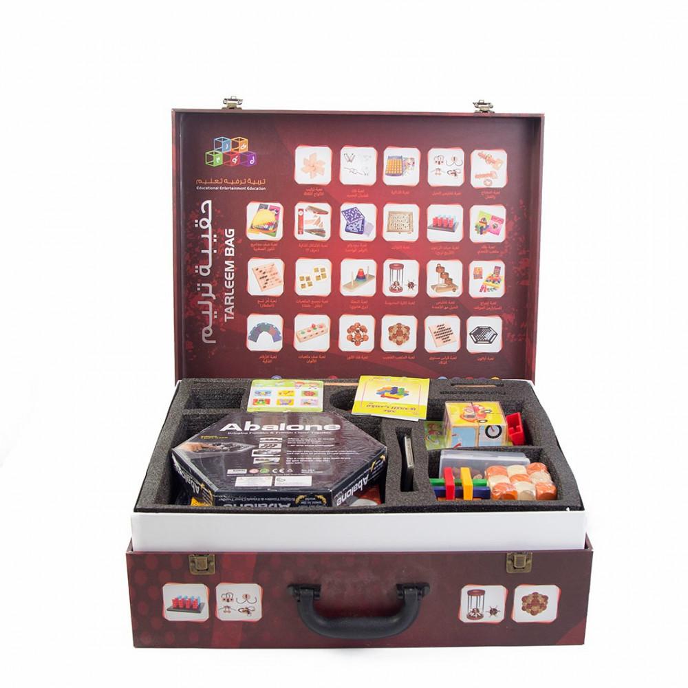اشتري الصناديق لعبة ذكاء و تحدى حقيبة التحدي والذكاء في سعودية
