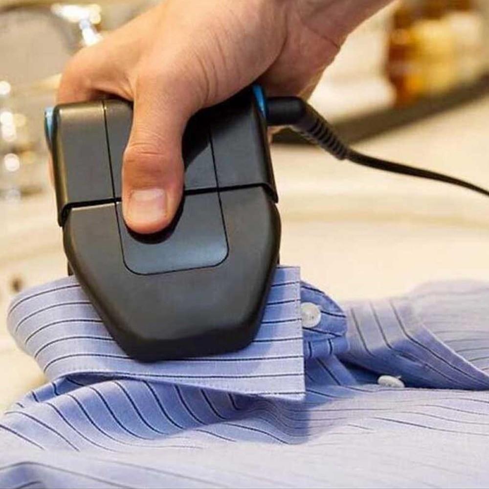 مكواة يدوية صغيرة متنقلة لكوي الملابس و أطراف الملابس تعمل بالكهرب