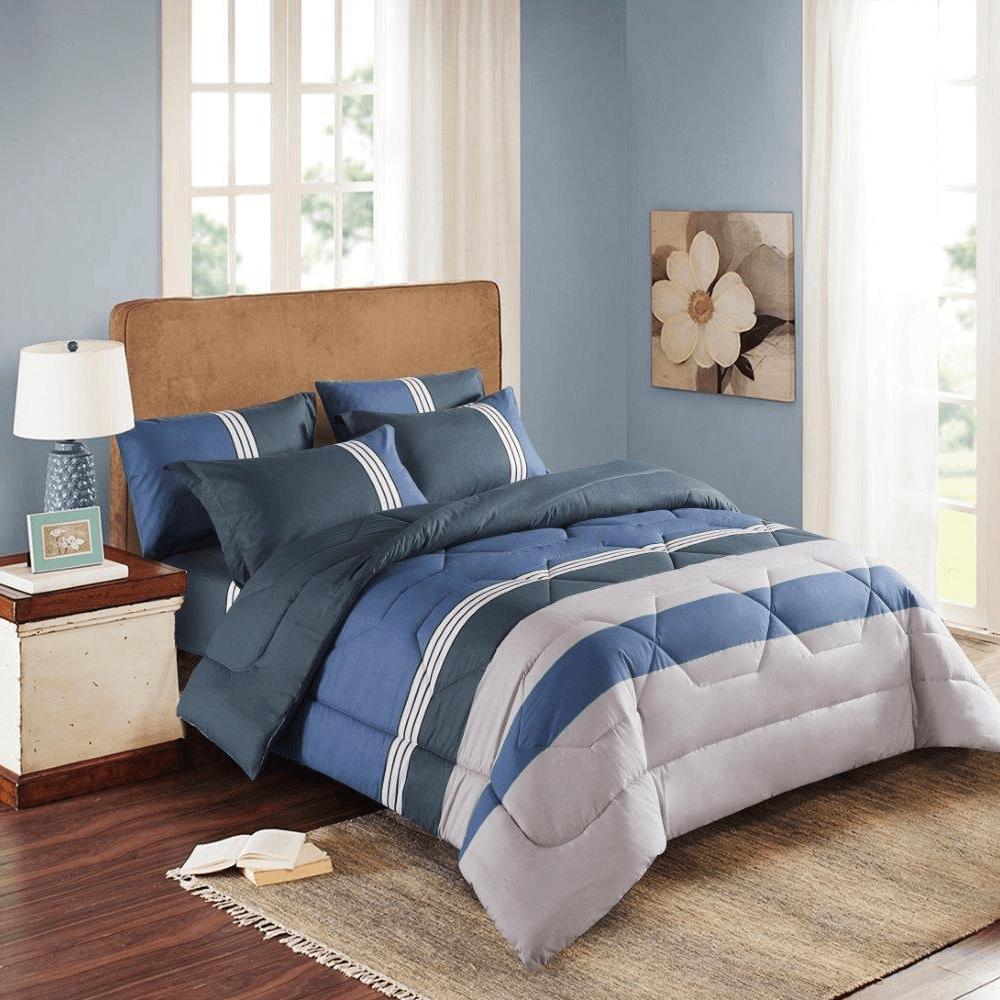 مفارش سرير صيفيه قطن مزدوج - متجر مفارش ميلين