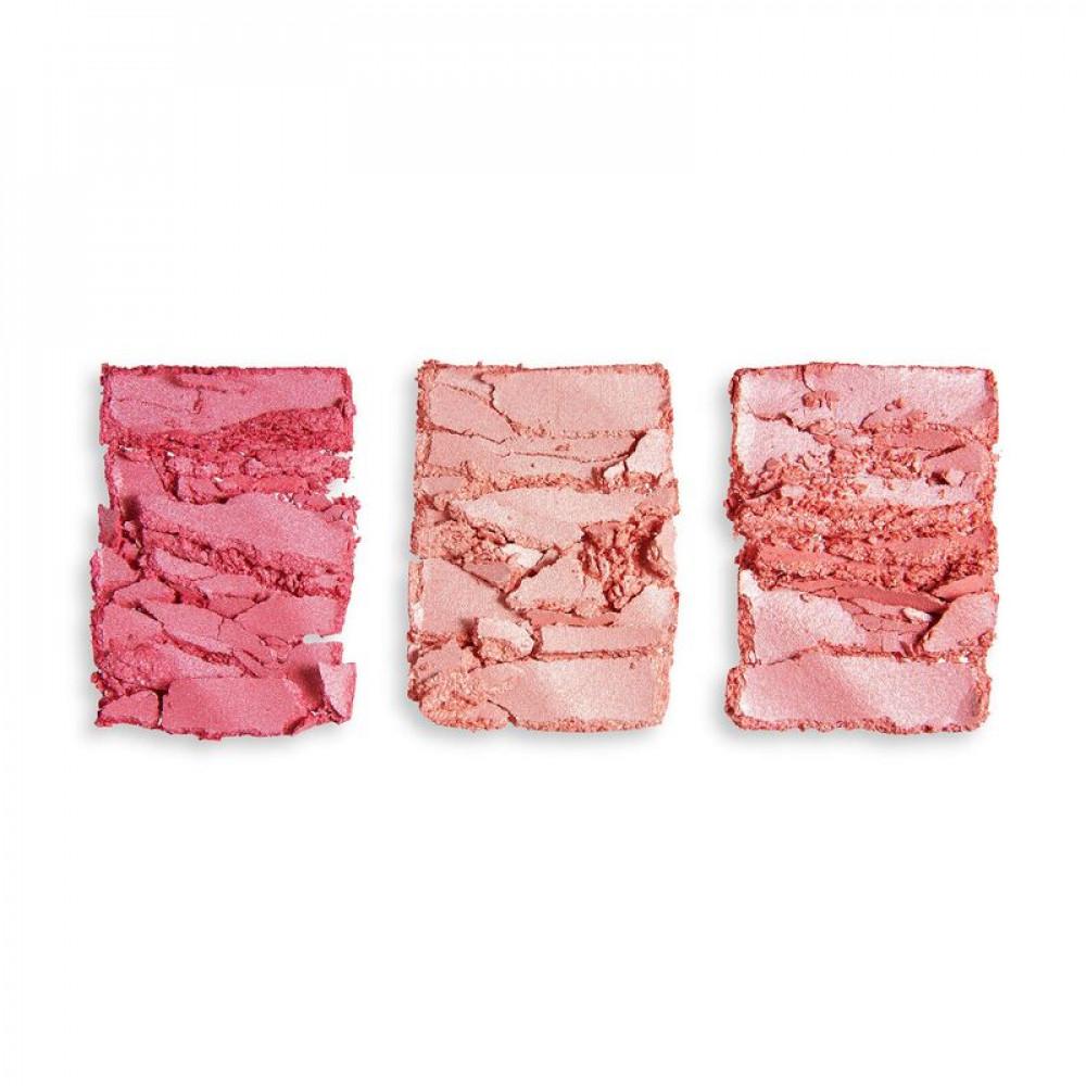 باليت اضاءه وبلاشر ريفلوشنPrecious Stone Highlighter Palette Ruby Crus