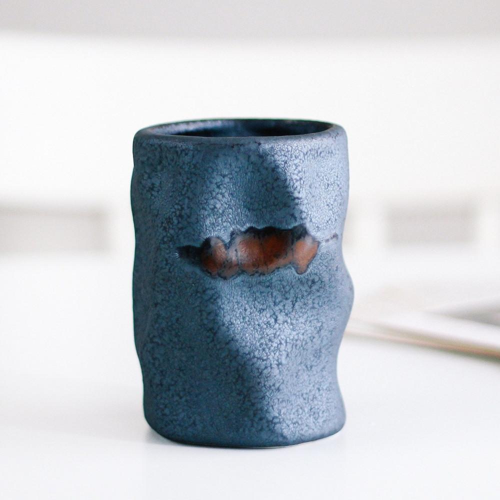 كوب حجري كوب قهوة منحني أدوات القهوة المختصة متجر معدات القهوة أكواب