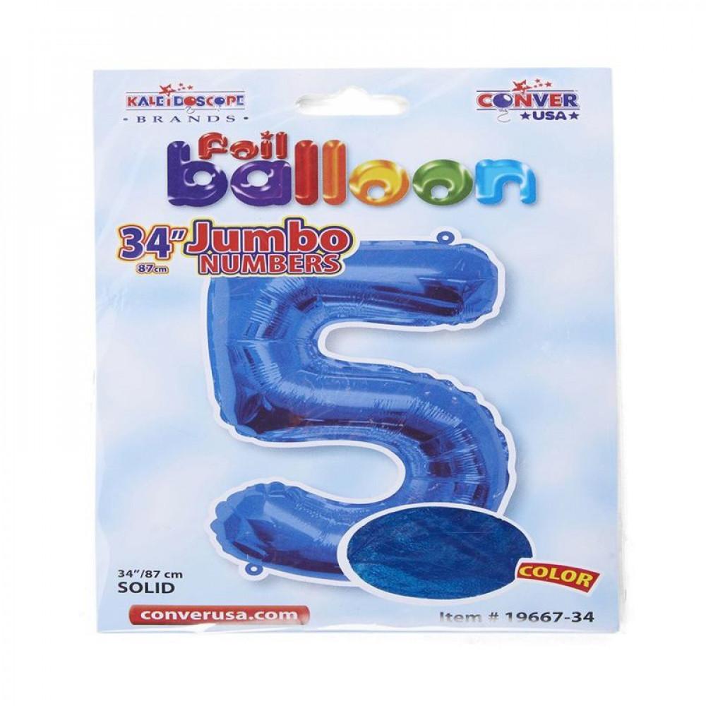 بالون أزرق, بالون رقم 5, Blue Balloon, بلونات أرقام