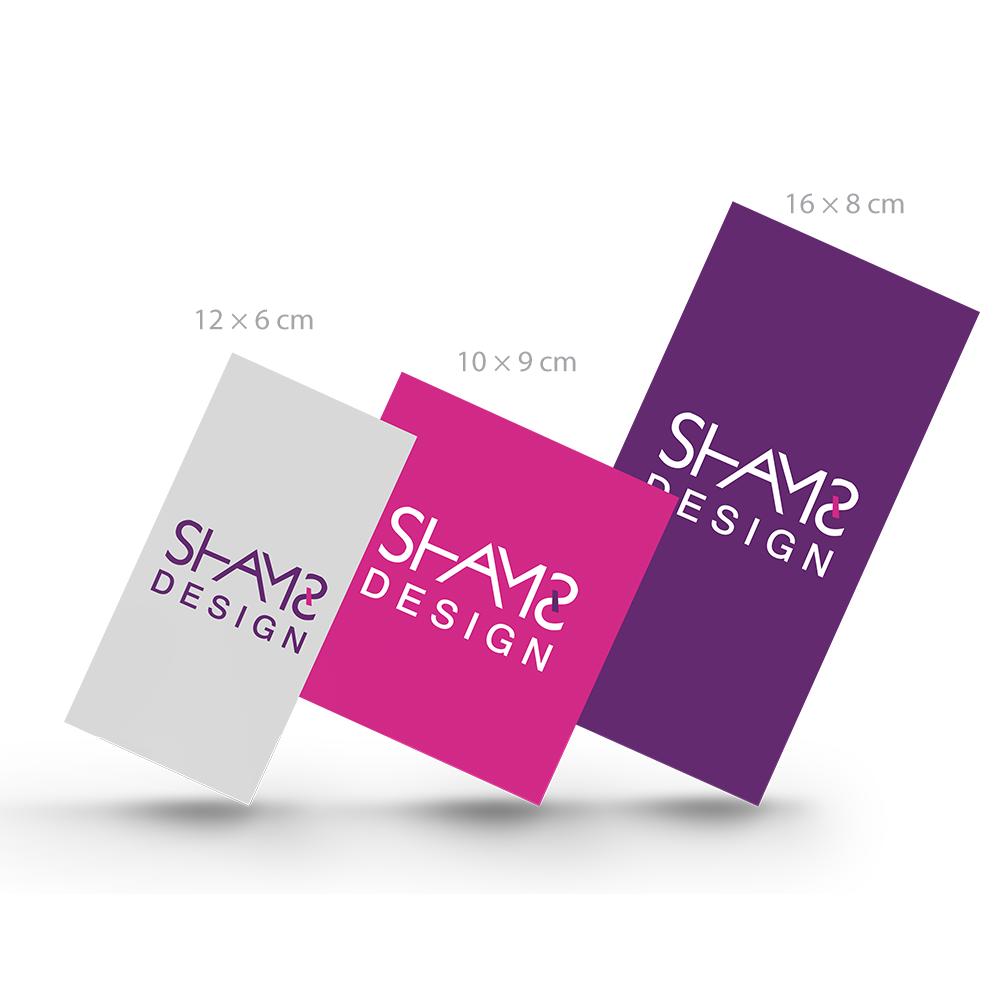 تصميم بطاقة شكر تصميم بطاقات دعوة تصميم بطاقات مستطيله