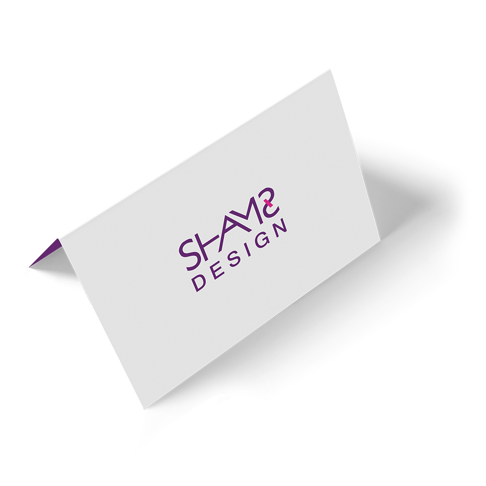 تصميم بطاقة اهداء