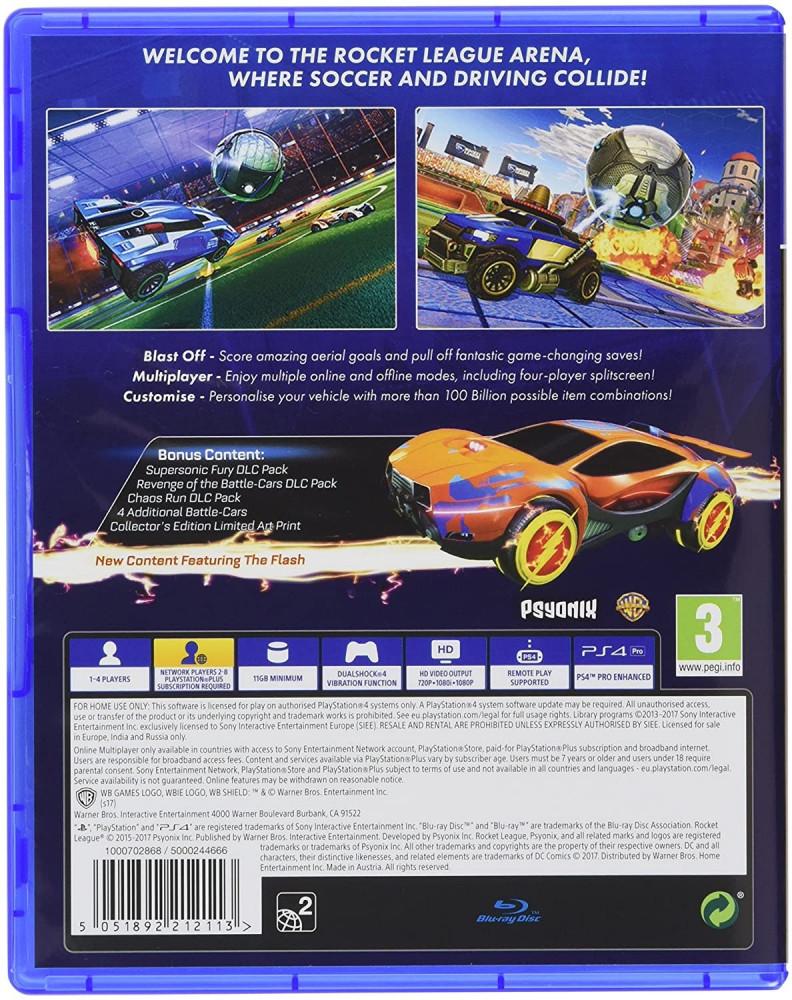 Rocket League Collectors Edition-PS4