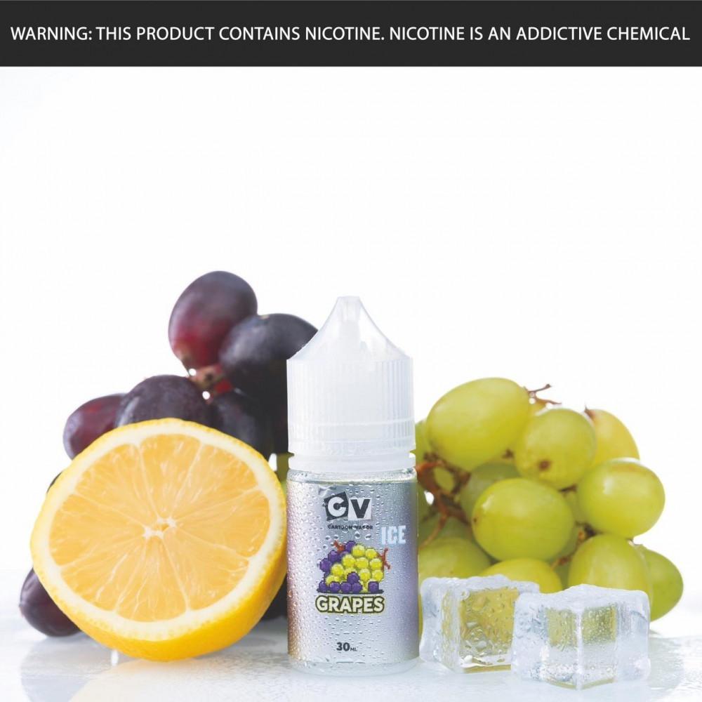 نكهة سي في عنب ايس - سولت - CV GRAPES ICE Salt