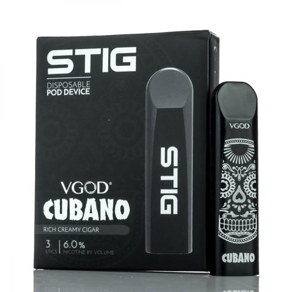 STIG CUBANO SaltNic ستيج كوبانو