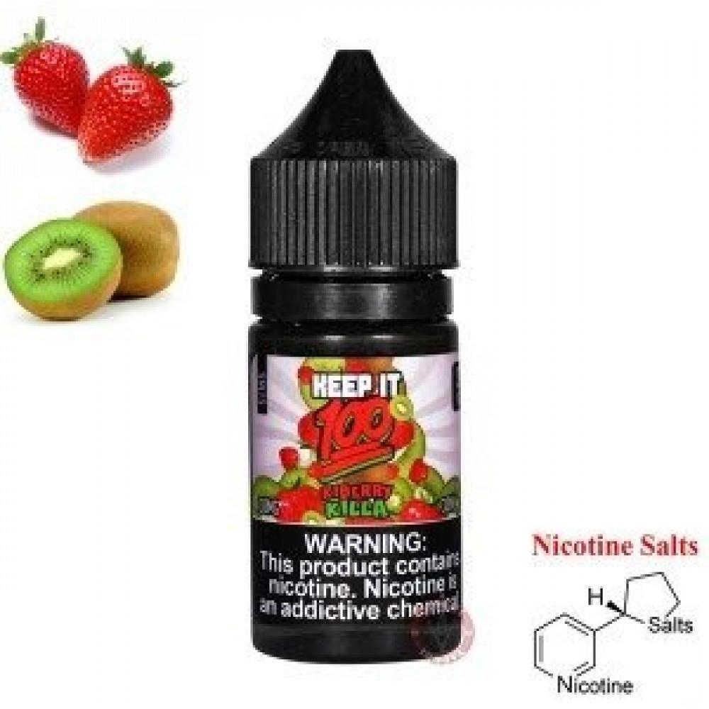 نكهة كيب ات كيوي فراولة  - سولت - KEEP IT 100 KIBERRY KILLA Salt