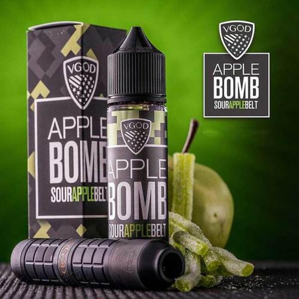 نكهة فيقود تفاح - VGOD Apple Bomb Sour Apple - 60ML