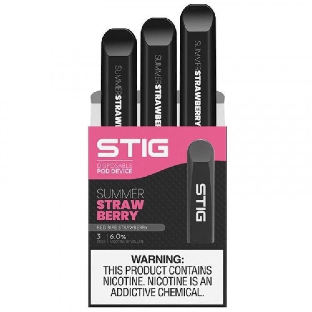 سحبه سيجارة جاهزة ستيج فراولة - STIG SUMMER STRAWBERRY