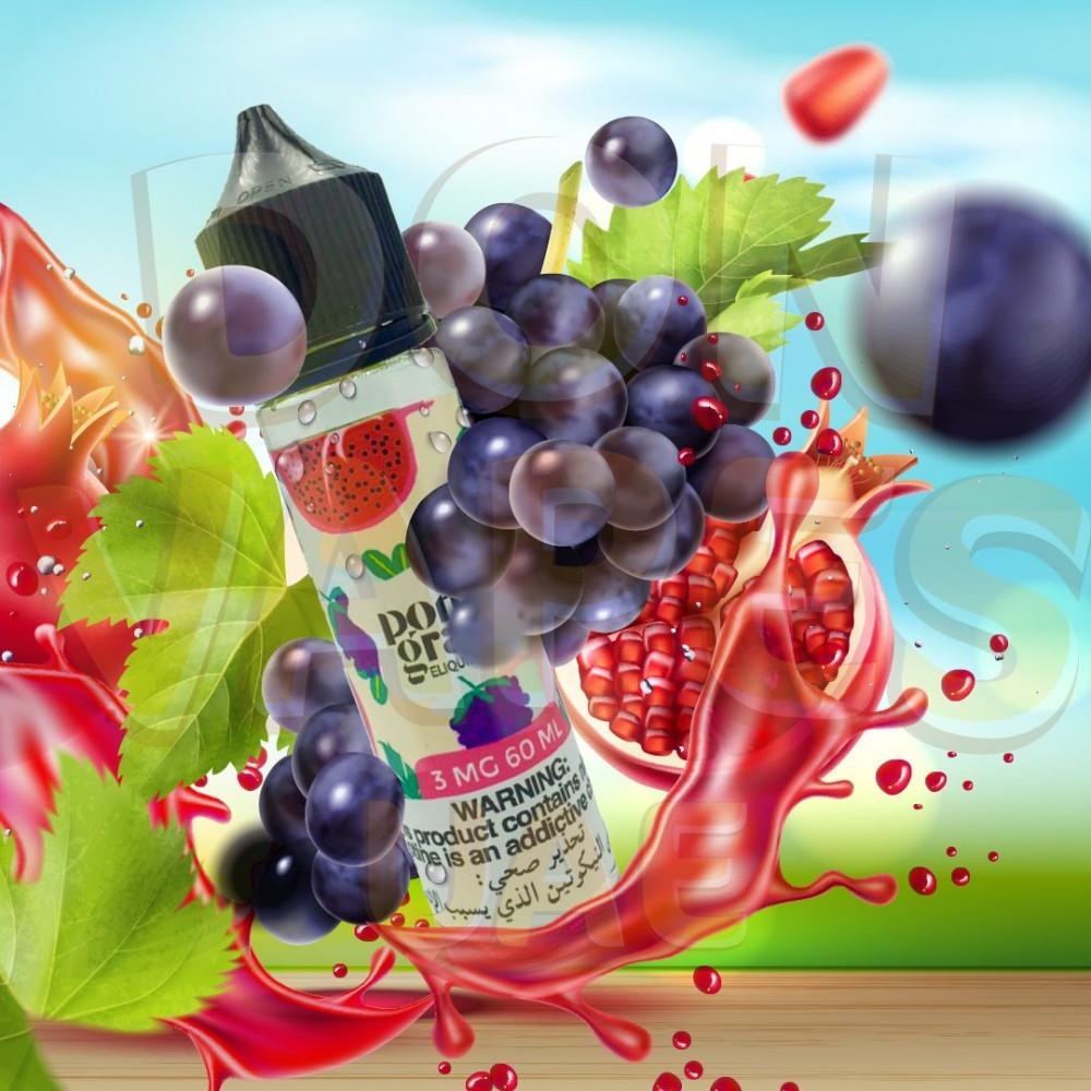 نكهة عنب رمان مكس - Pome Grape - 60ML