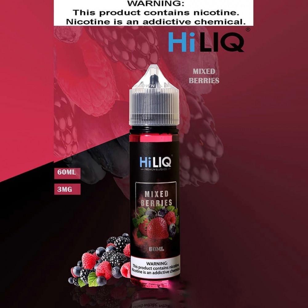 نكهة هاي ليك مكس بيري - HILIQ MIXED BERRIES - 60ML
