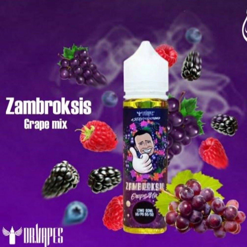 نكهة دكتور فيب - عنب - ZAMBROKSIS GRAPE  - 60ML