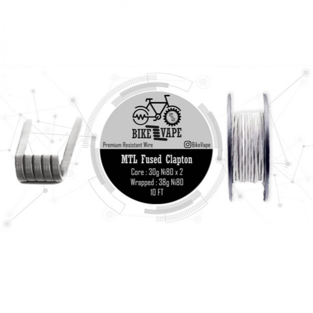 كيبل أحادي طول 10 قدم يكفي لتصنيع 30 كويل بجودة عالية Bike Vape Wire B