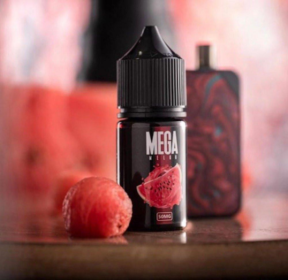 نكهة سيجارة ميقا بطيخ سولت نيكوتين MEGA MELON Salt
