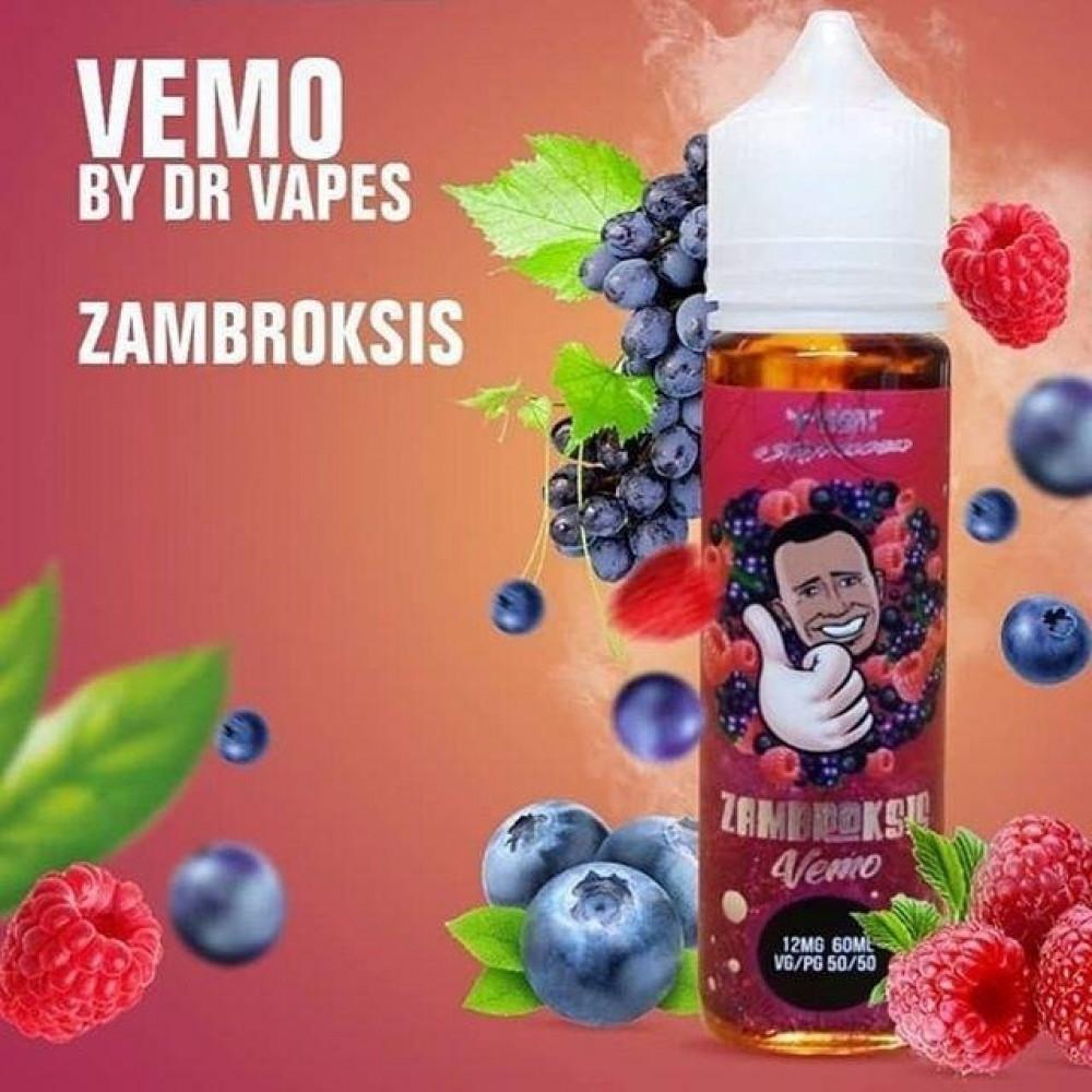 نكهة دكتور فيب فيمو - عنب توت - ZAMBROKSIS Vemo - 60ML