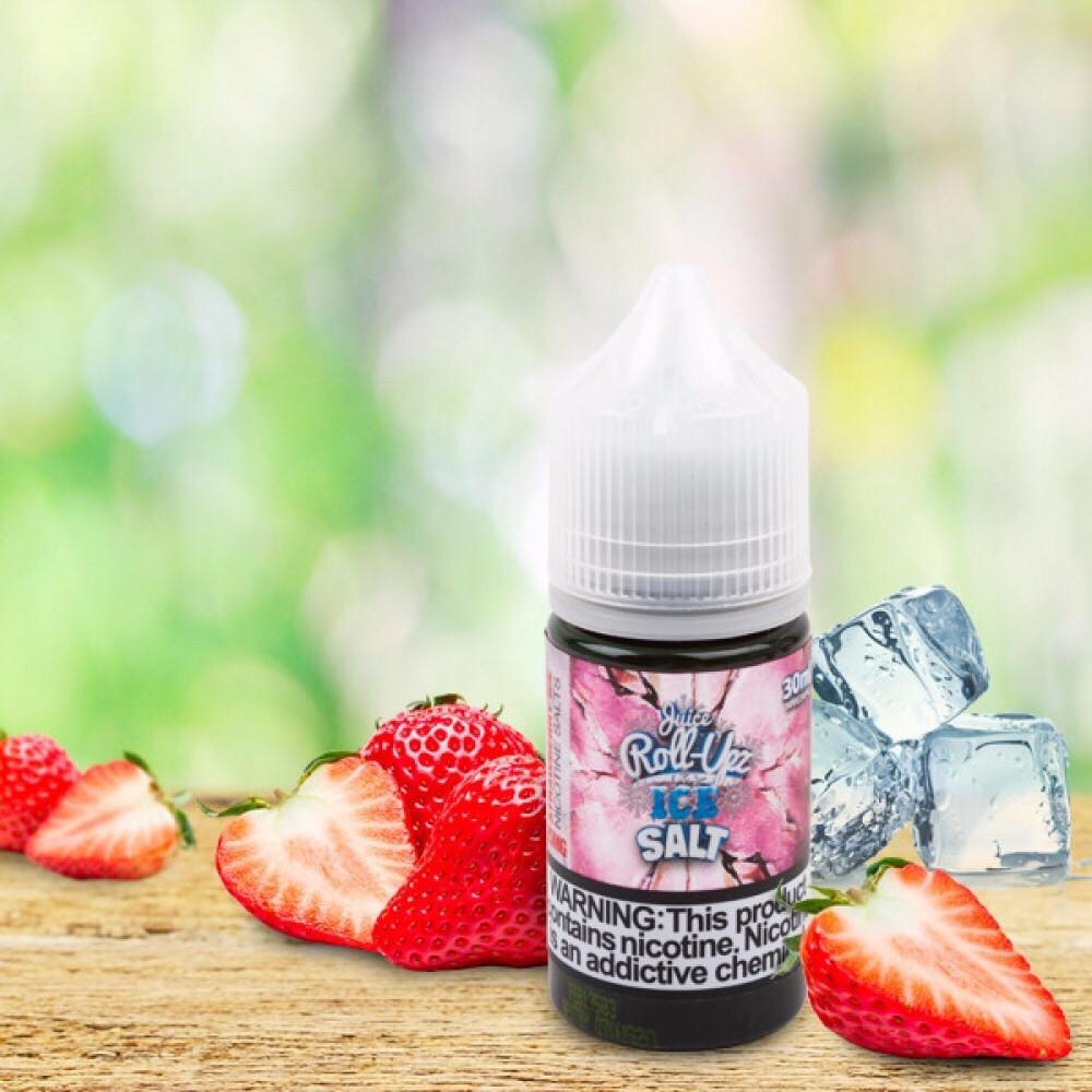 نكهة رول ابز فرولة ايس سولت Roll-upz Strawberry ICE - Salt Nicotine