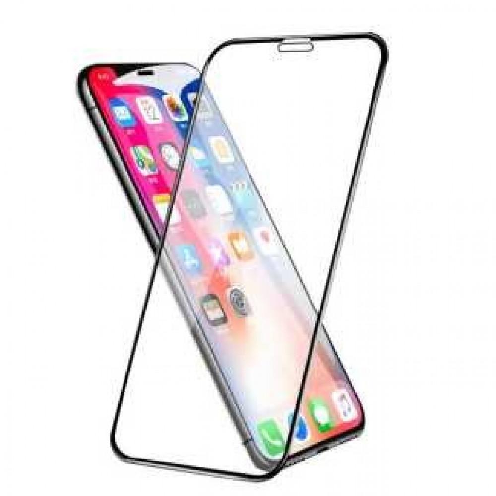 استيكر حماية شاشة ايفون 11 برو ماكس ار اكس ابل قزاز شفاف iphone glass