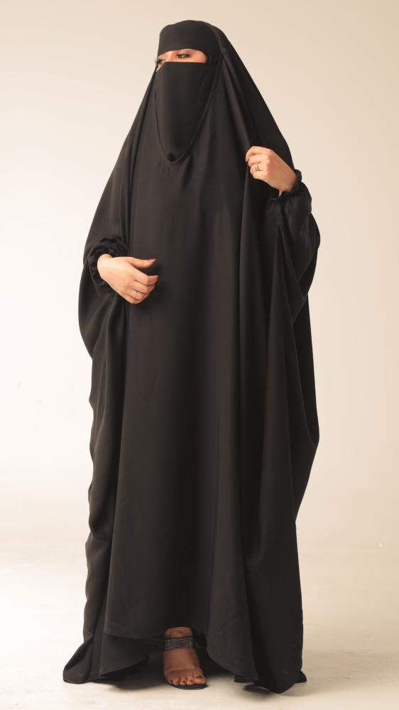 عباية رأس دار لينا متجر سعودي للعبايات والفساتين