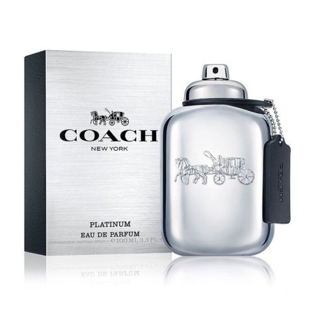 Coach New York Platinum for Men Eau de Parfum 100ml خبي العطور