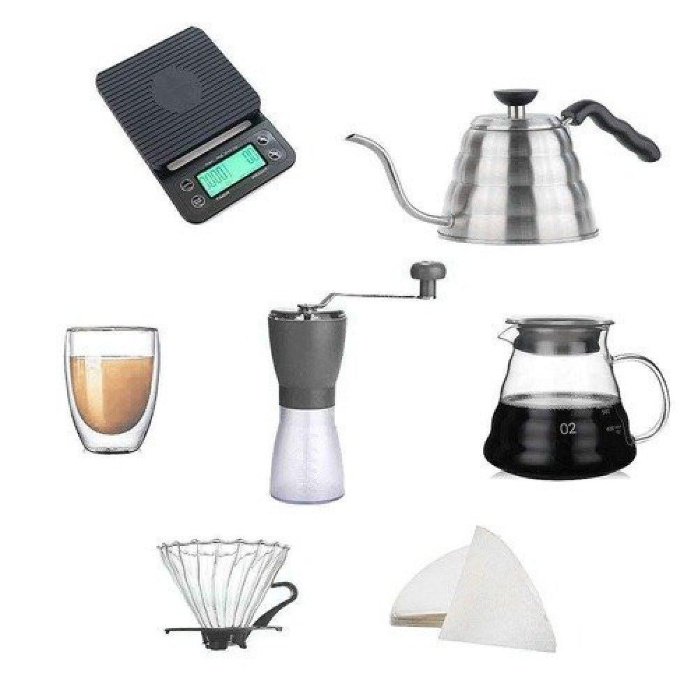 بكج أدوات V60 للقهوة المقطرة