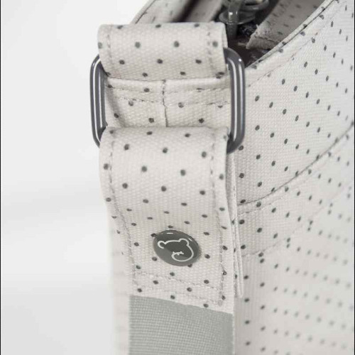 حقيبة يد باللون الرمادي من ماركة Pasito A Pasito من دوها