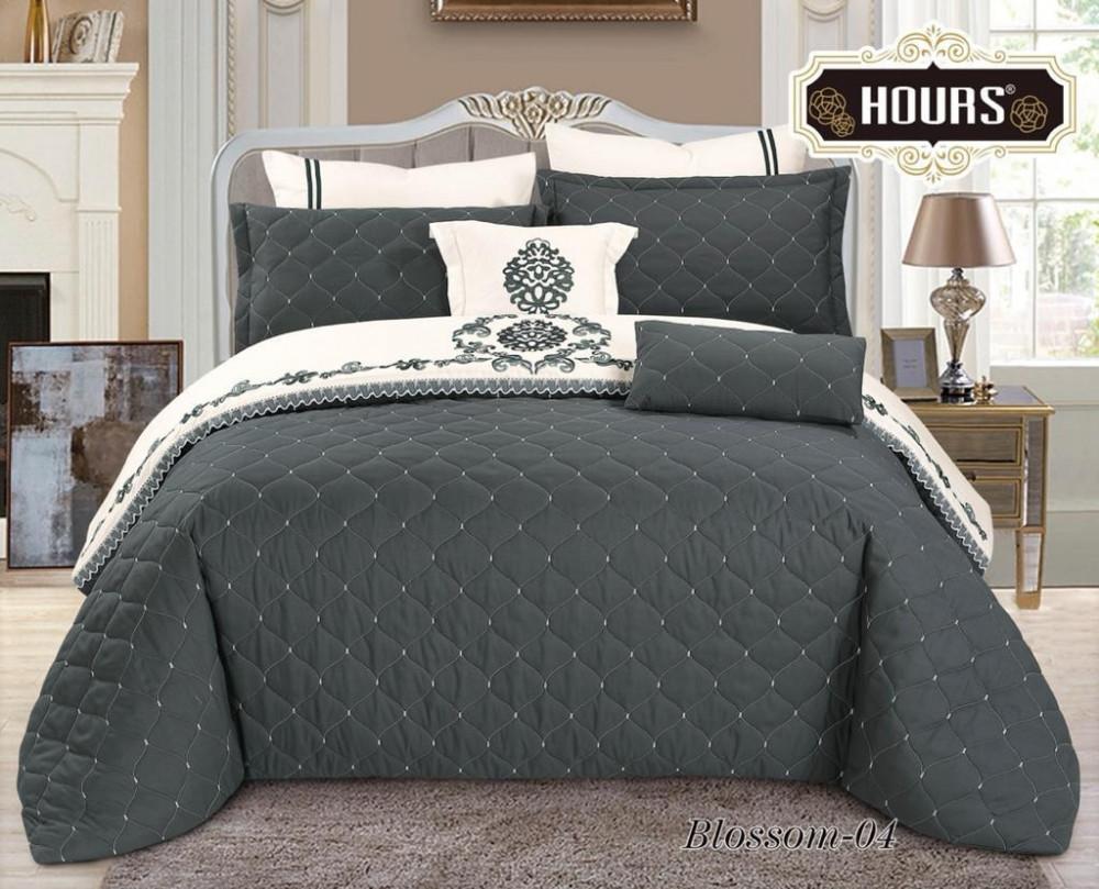 لحاف سرير يميز والتصميم الملكي والانطباع الاسطوري المريح اثناء النوم