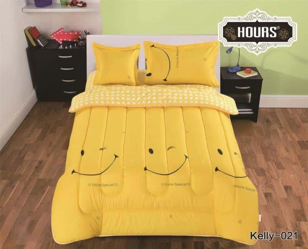 مفرش سرير أطفال رسمة ابتسامة