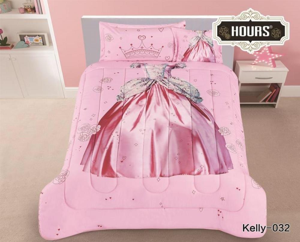 مفرش سرير أطفال رسمة ملابس ملكة