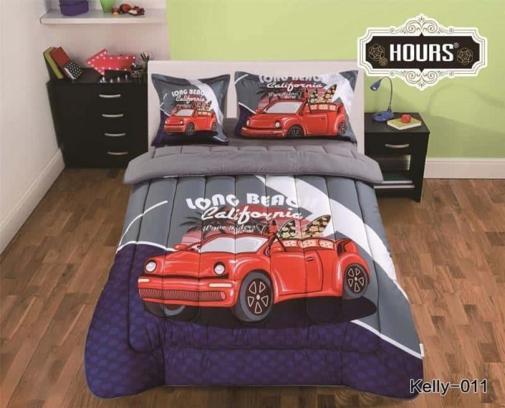 مفرش سرير أطفال رسمة سيارة