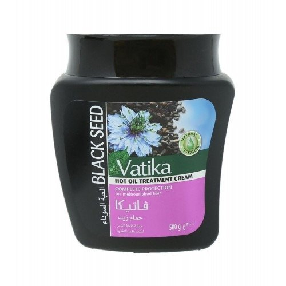 Vatika Black Seed Complete Protection for Malnourished Hair 500g متجر