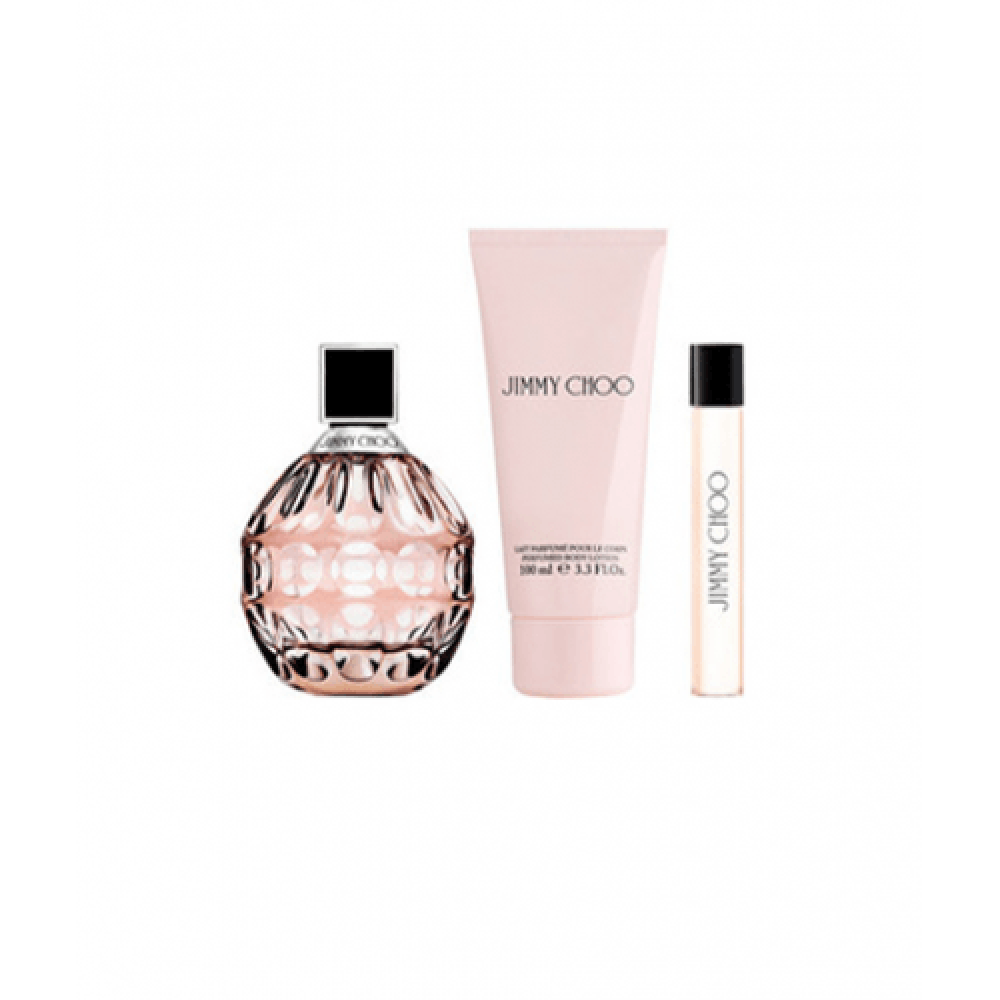 Jimmy Choo Eau de Parfum 3 Gift Set-Sample خبير العطور