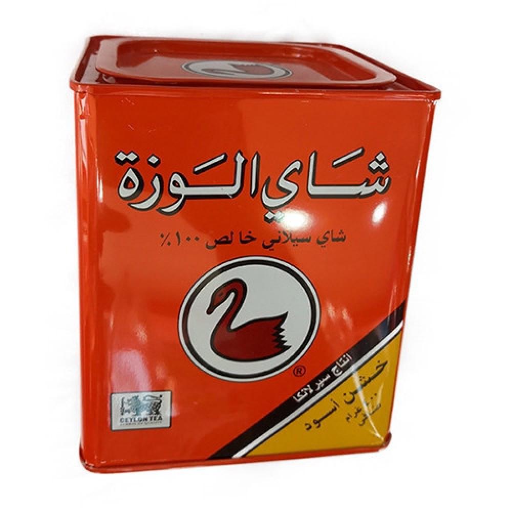 شاي الوزه 400 جرام علبه معدنيه