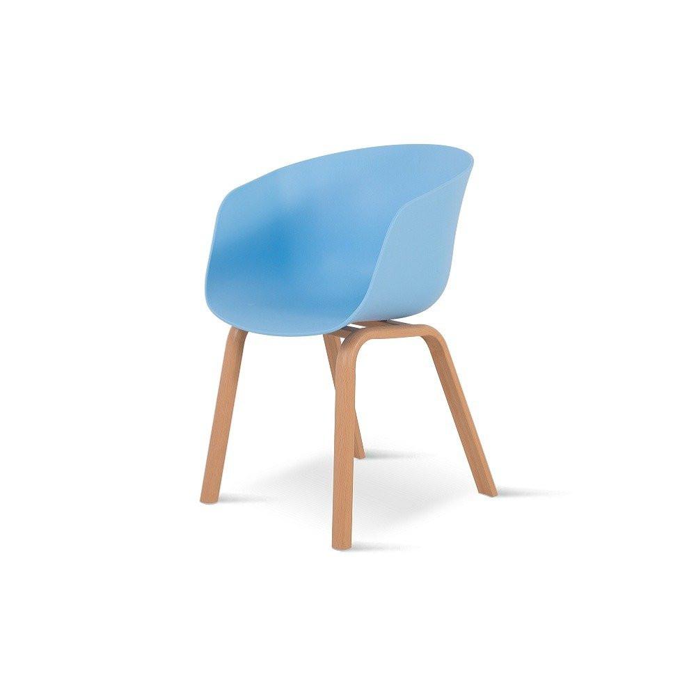 أجمل الكراسي تجدها في متجر تجارة بلا حدود من طقم كراسي 4 قطع لون أزرق