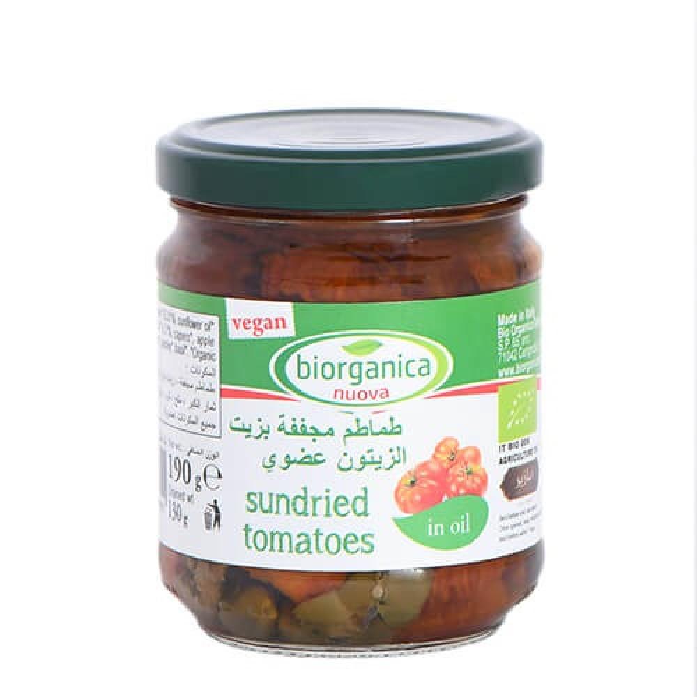 طماطم مجففة بزيت الزيتون 190 جرام