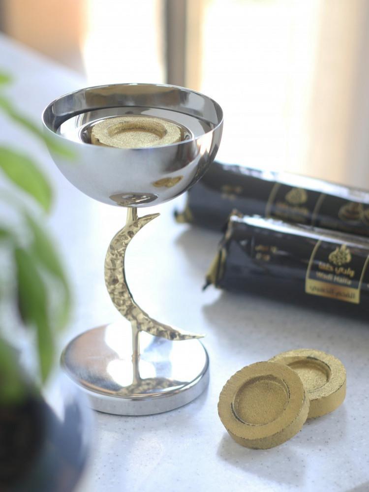 فحم وادي حلفا الذهبي كبير Incense Golden Charcoal أندرسكور UNDERSCORE