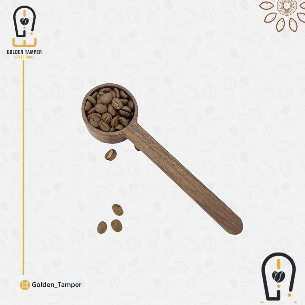 ملعقة خشب للقهوة