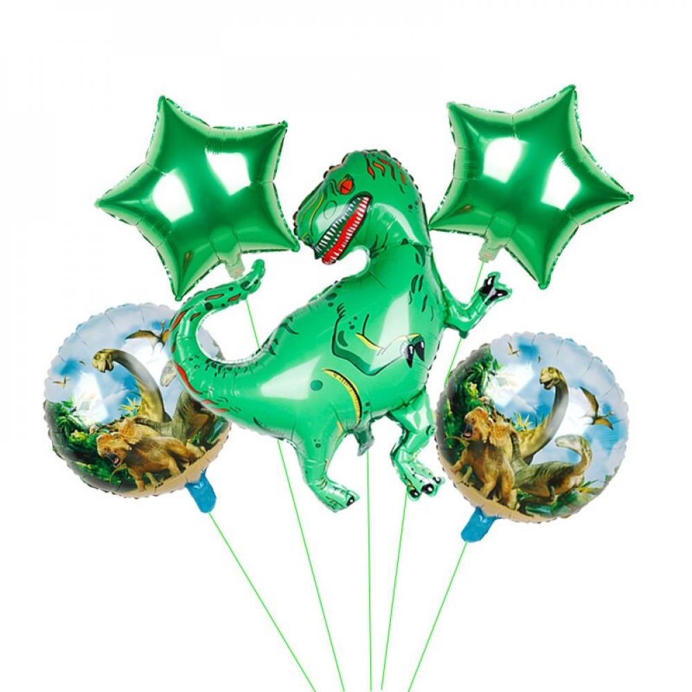 مجموعة بالونات هيليوم  ديناصورات