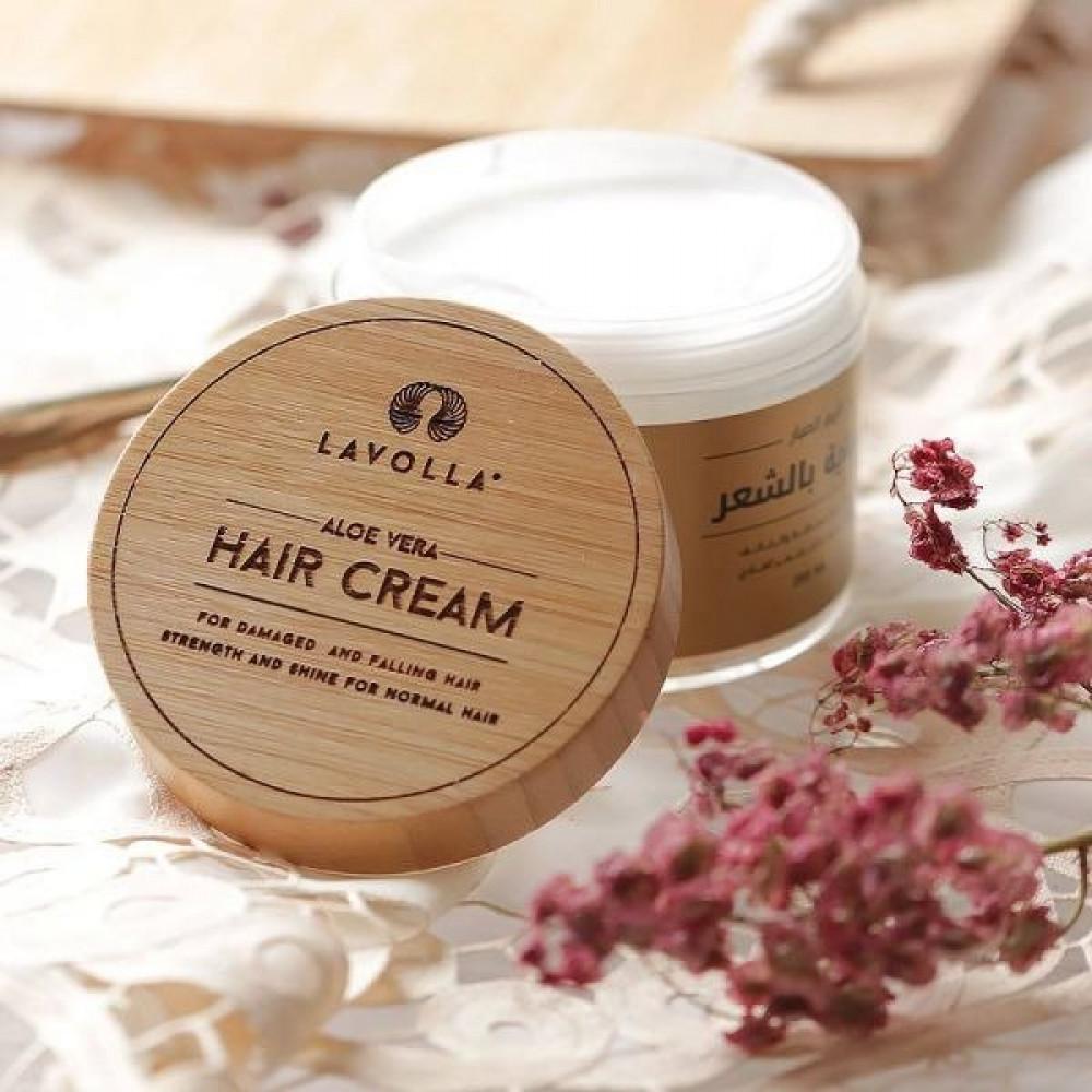 كريم الصبار للعناية بالشعر المتساقط والتالف Aloe Vera Hair Cream