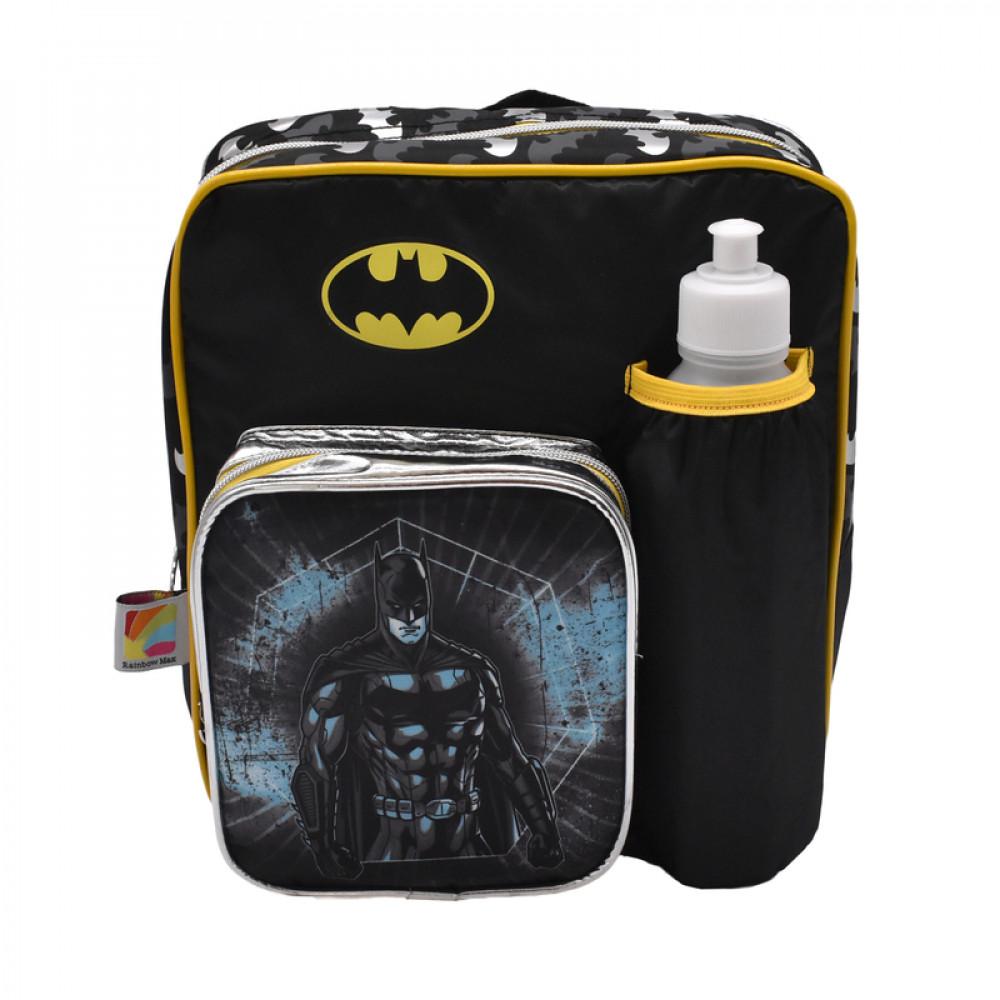 شنطة ظهر باتمان, علبة غداء, زمزمية, Batman, Backpack