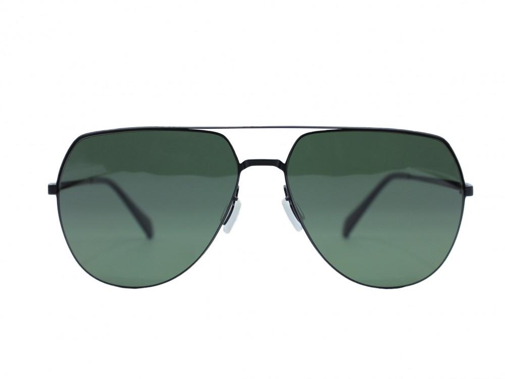 نظاره شمسية كلاسيكية من ماركة PARIM لون العدسة اخضر للجنسين فاخرة2021