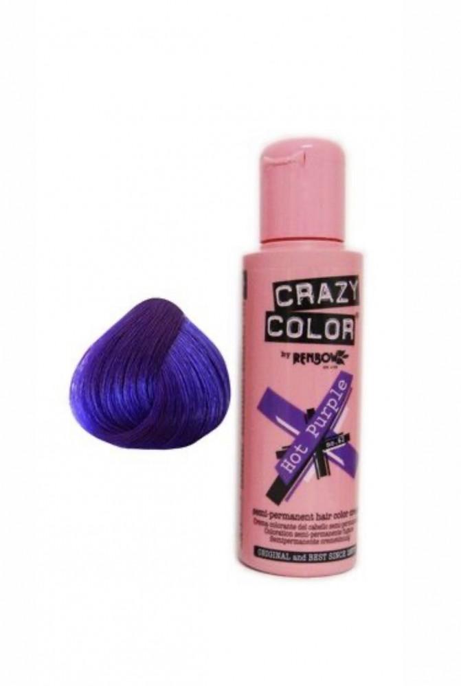 كريزي كلر من رينبو صبغة مؤقتة لون بنفسجي Crazy Colors سمارت سوق