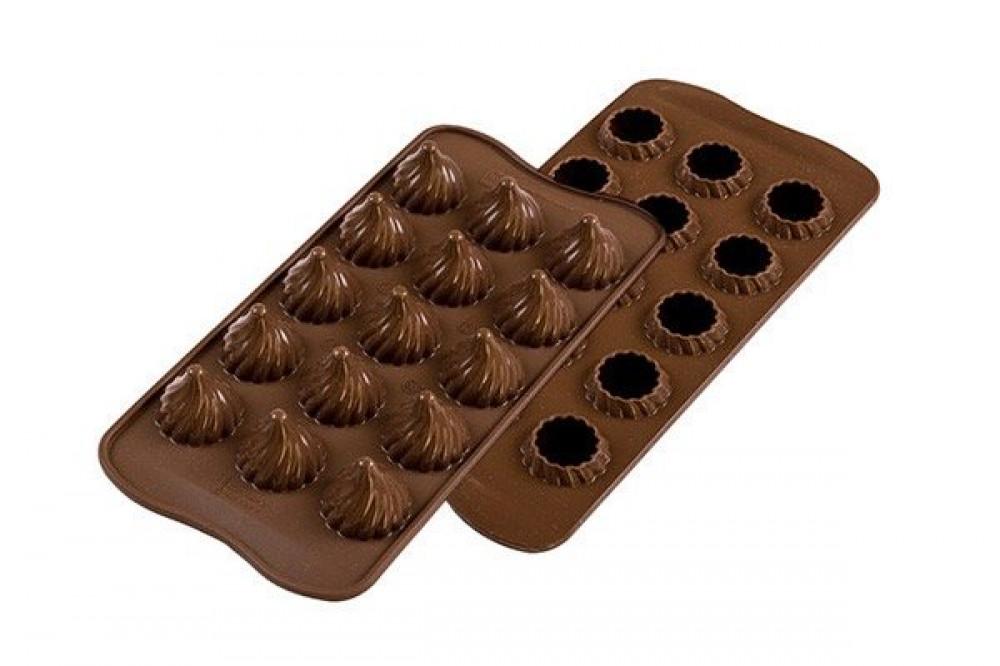 قوالب سلكون للشوكولاته