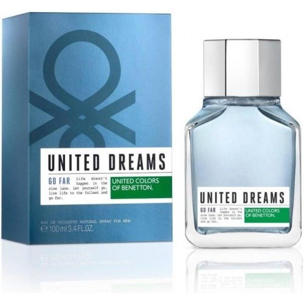 Benetton United Dreams Go Far Eau de Toilette 100ml خبير العطور