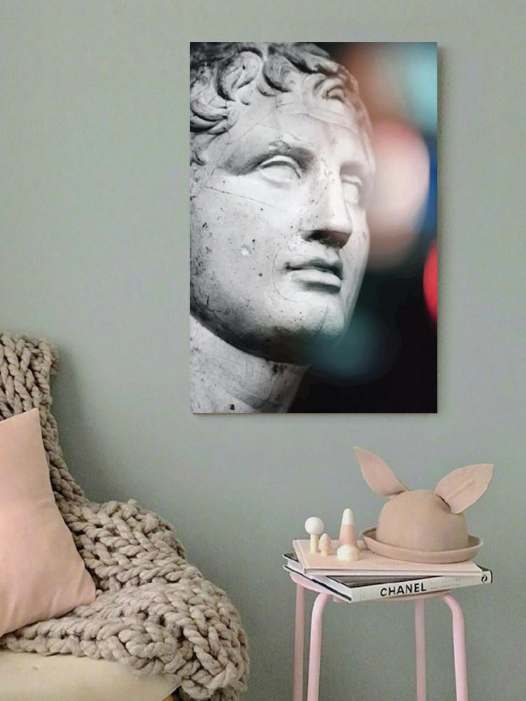 لوحة تمثال خشب ام دي اف مقاس 40x60 سنتيمتر