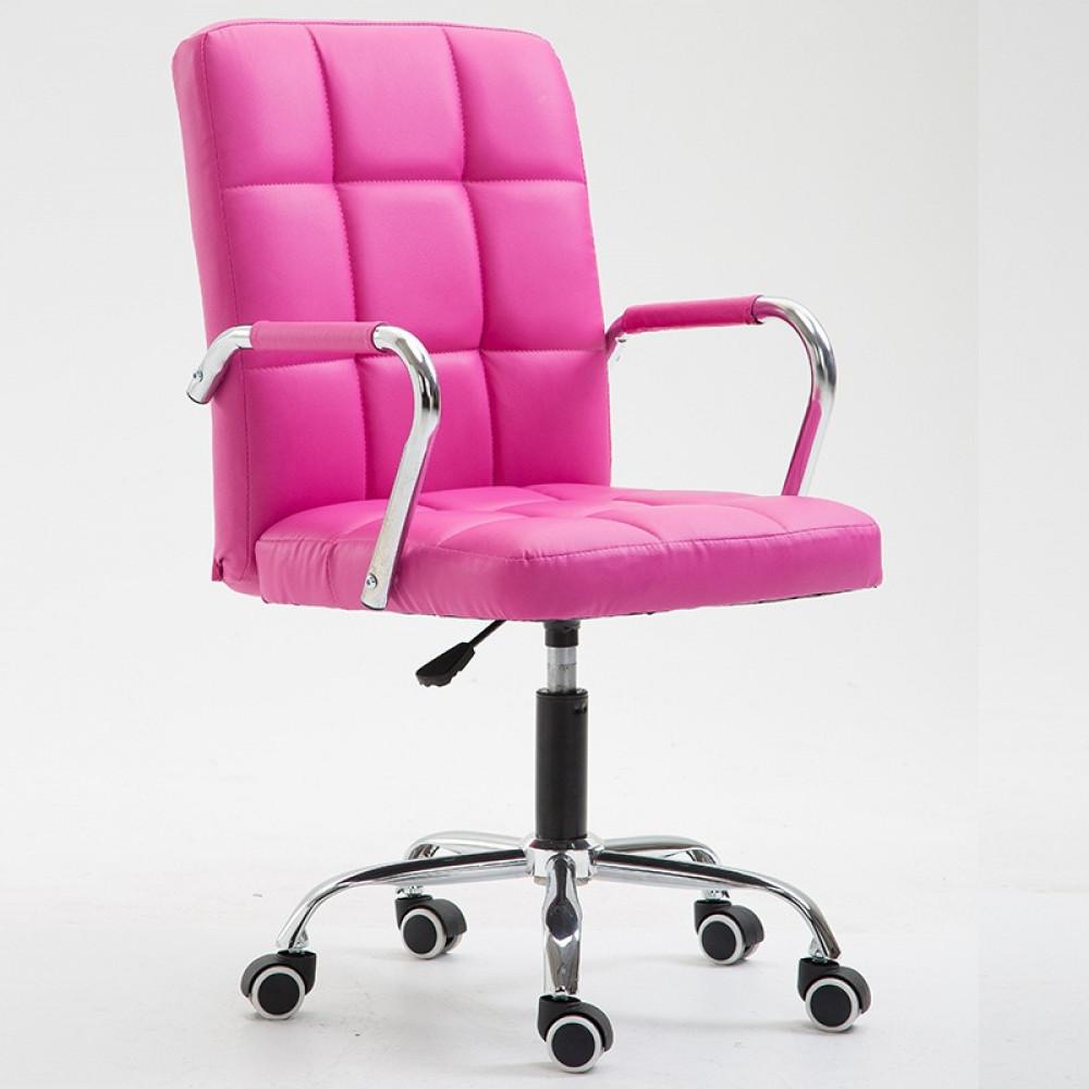 كرسي-جلد-بعجلات-مع-امكانية-التحكم-في-الارتفاع