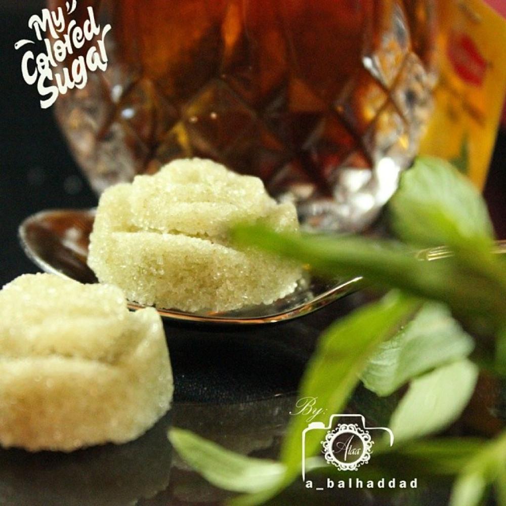 سكر بالحبق قوالب سكر ضيافة بنكهة الحبق الطبيعية من متجر السكر