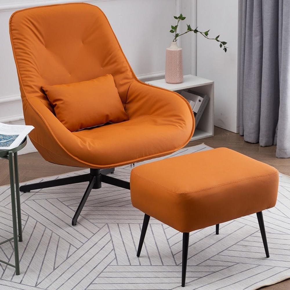 كرسي-ليزي-بوي-راقي-جلد- مسند-للقدم